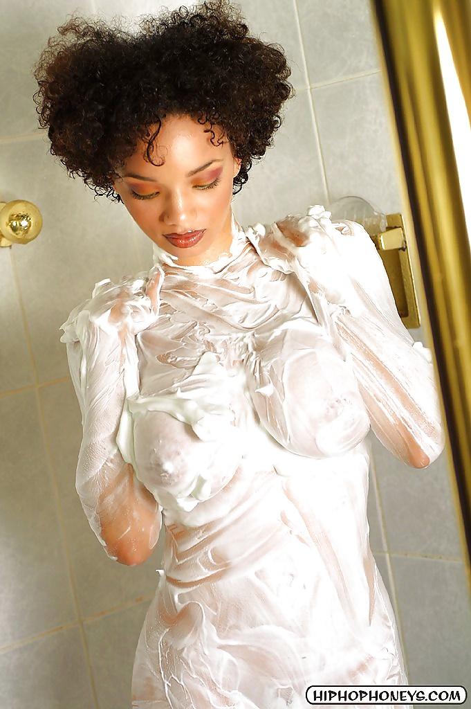 Light black girl nude-1265