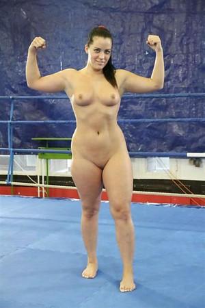 nude Pro wrestling women