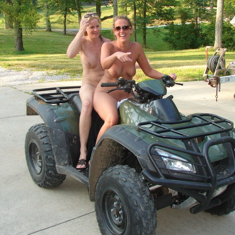 Naked on quad sexy wife naked