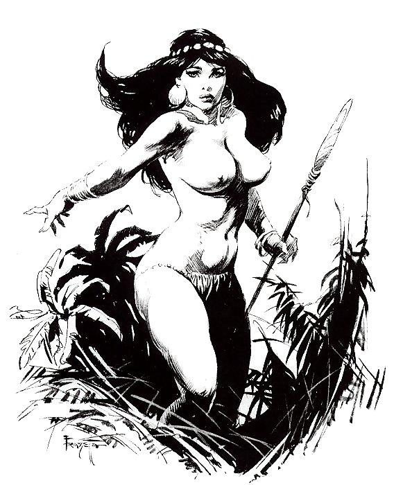 Black erotica illustrations