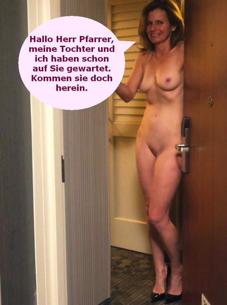 Porn captions german German captions