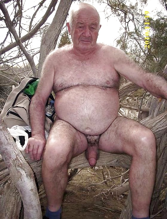 Nude gay grandpa free pictures