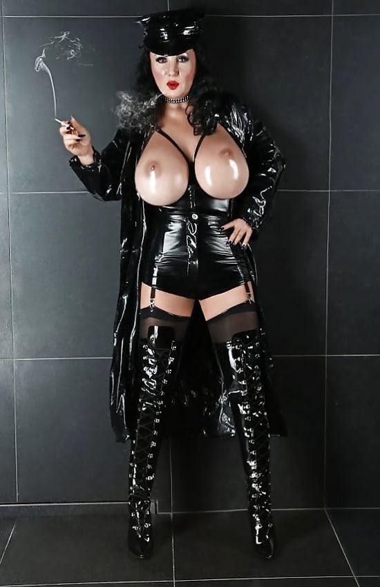 Latex big tits gallery