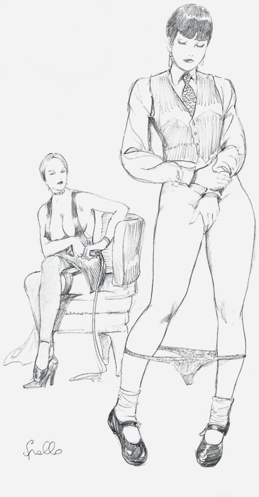 Lezdom drawings 2