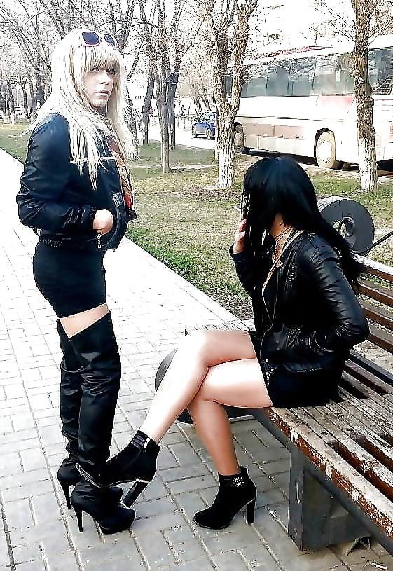 Транссексуалки на улице москвы тебе сказал
