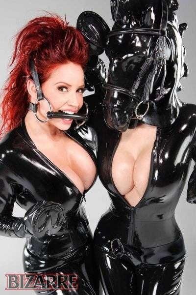 Erotic equine latex ponygirl — pic 2