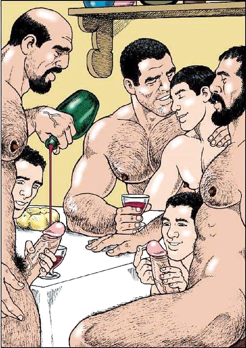 strips Gay cartoon comic
