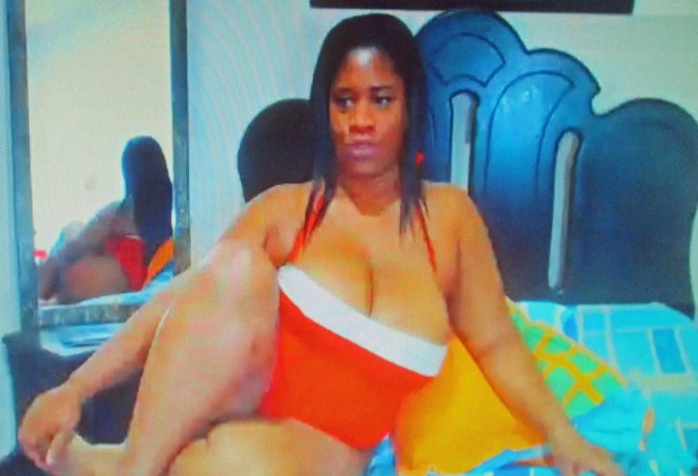 Mature ebony boobs-1262