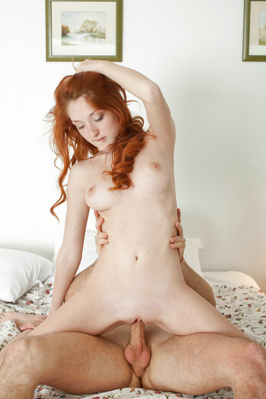 Naked redhead petite exposed uk