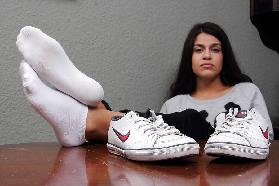Sweaty socks pussy — 13
