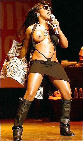 Celebrity pussy lil kim