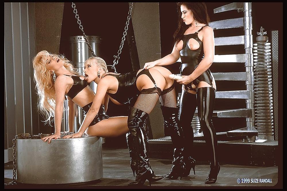 Bondage threesome gifs