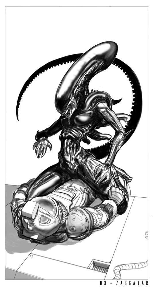 Cartoon porn alien-2715