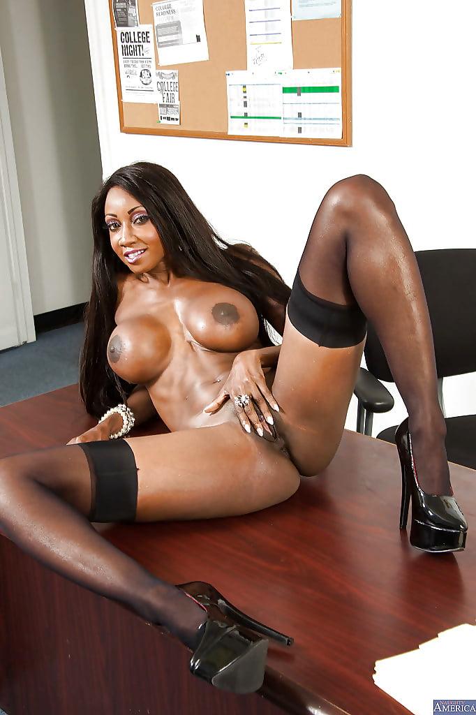 Black teacher ebony student