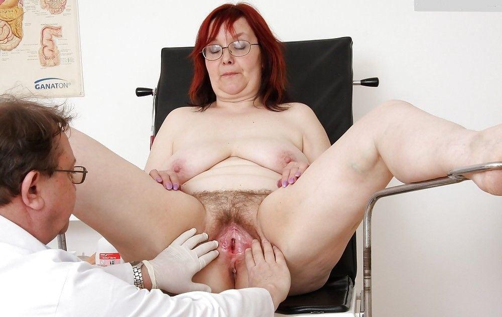 Busty adriana tits and pussy gyno exam