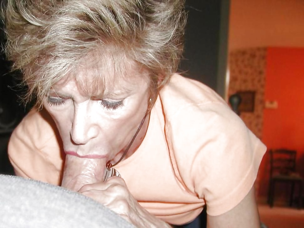 Nude old blowjob