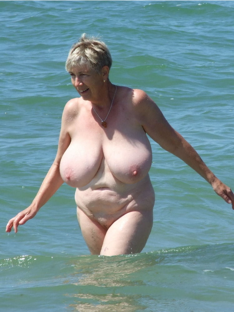 Tits naked beach