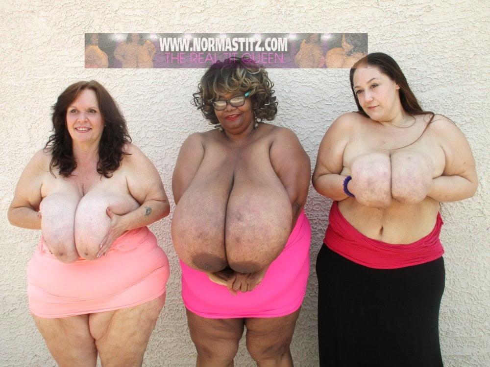 Giant bbw tits