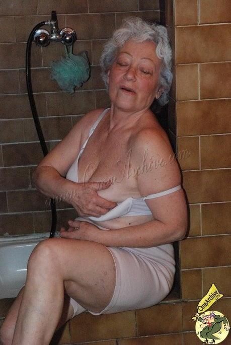 Perverted grannies nude #6