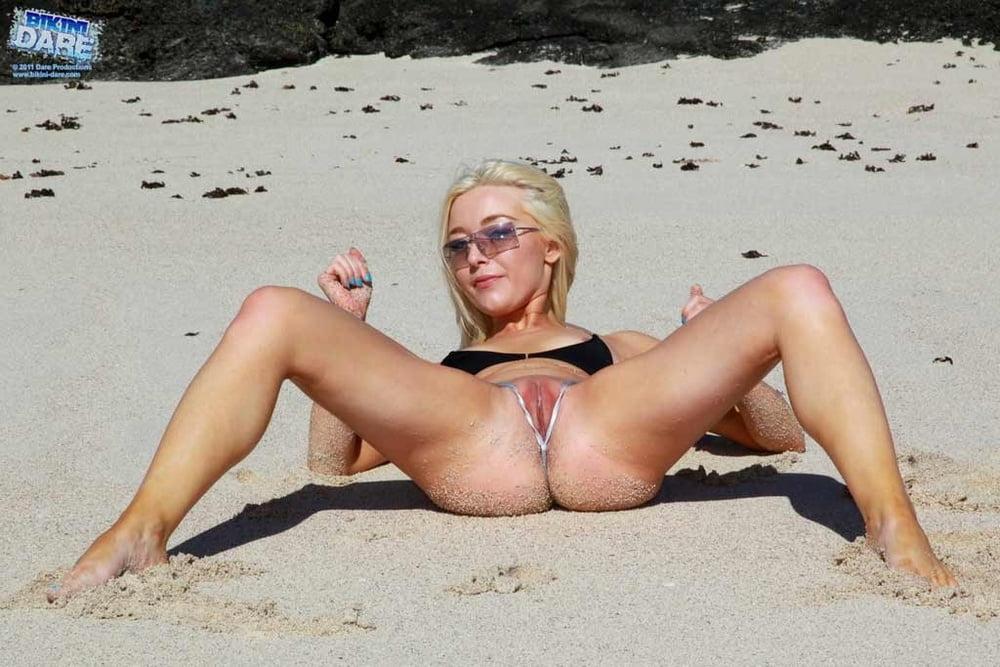 Amateur Caught My Sister Wearing Micro Bikini 4porn 1
