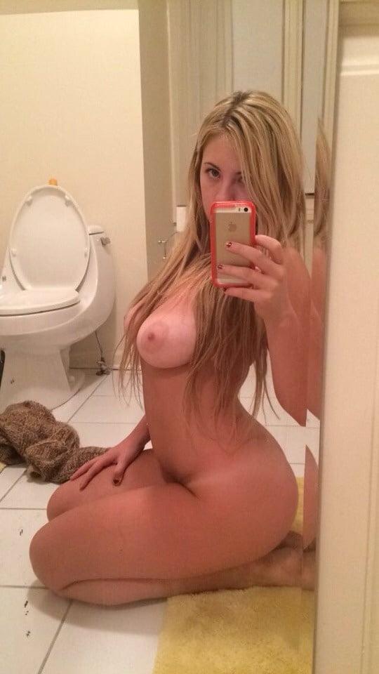 Teen big round tits