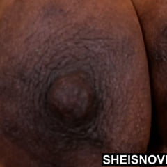Only Giant Black Nipples Areolas Ebony Saggy Udders Breasts
