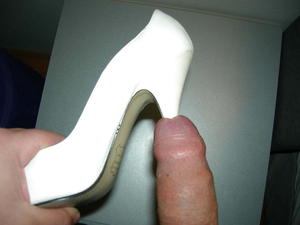 Crushing A Cock With Her High Heels