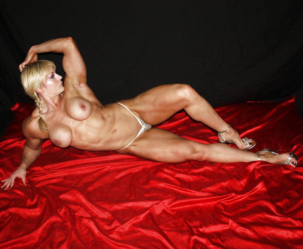 Blonde female bodybuilder pictures webcam adult, cleft chin porn