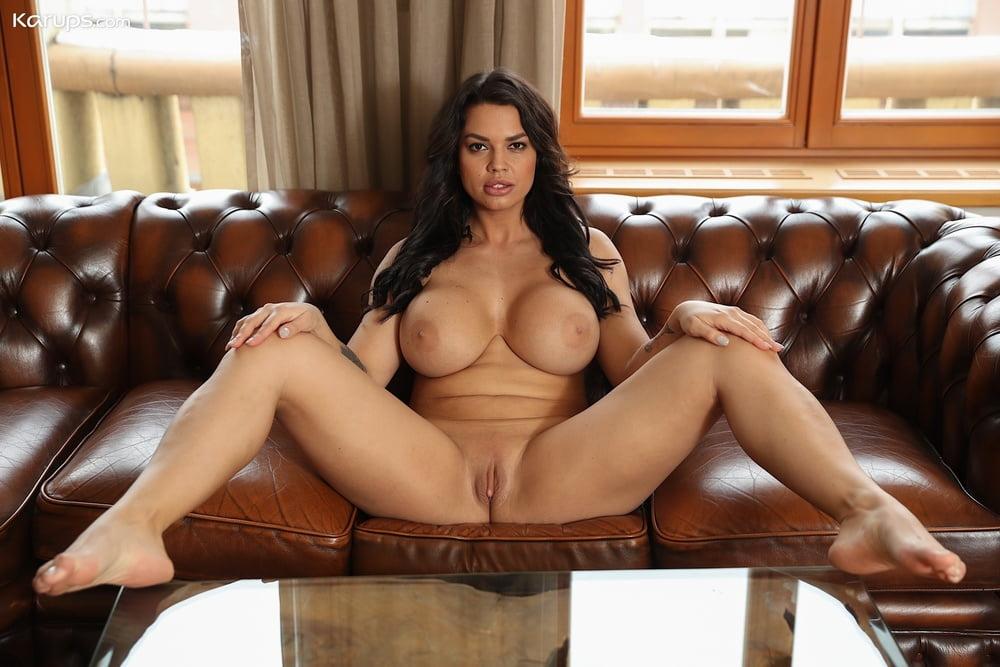 Tits spread big Mature Big
