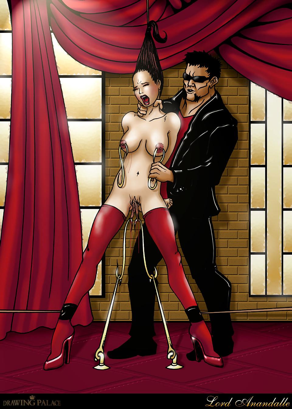 Bondage comics lord farris