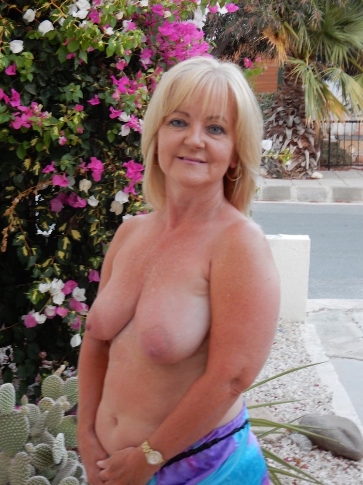 Young milf with big soft hangers and large areolas