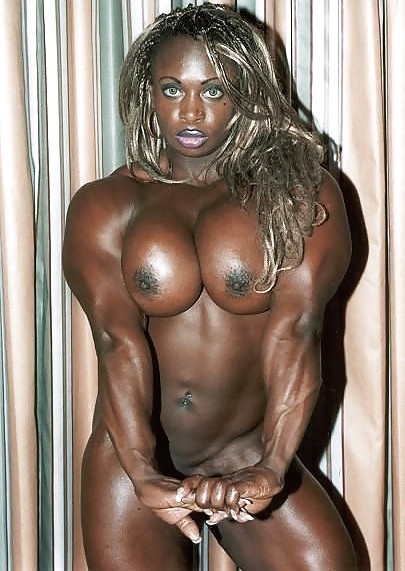 Ebony Women With Muscle Bodies Png