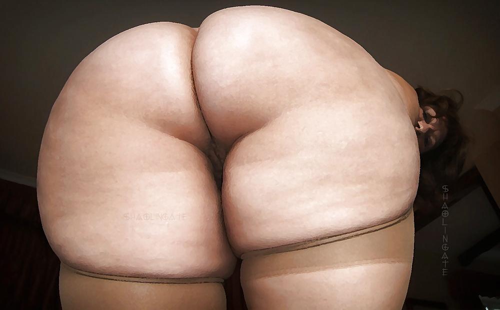 The shelf butt is the rear