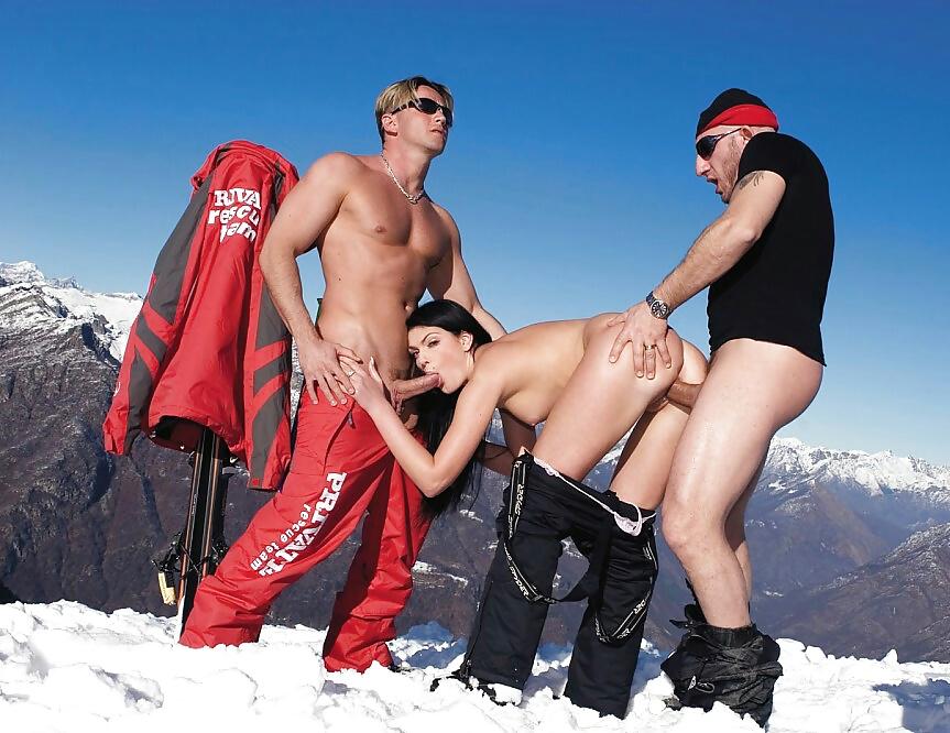 Skiing Porn Pics