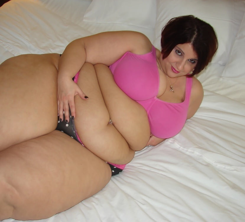 Belly sexy fat mature