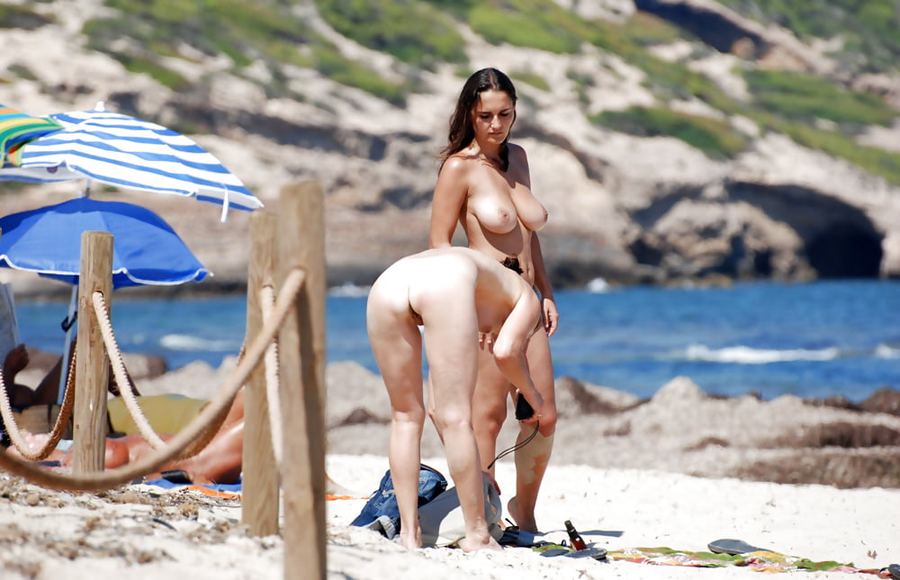 Nude on the beach hd