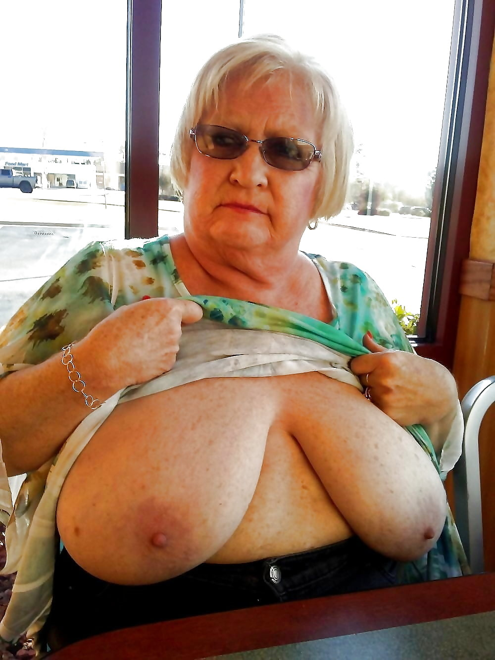 Grandmamature big boobs
