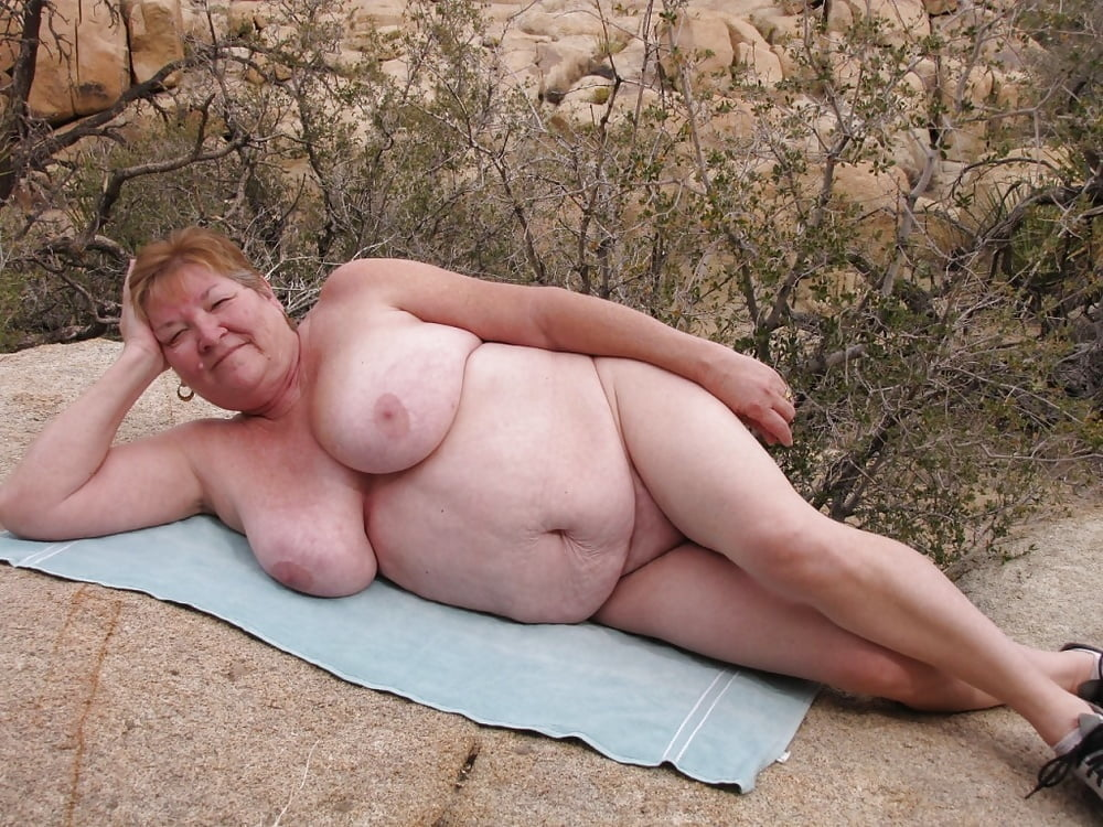 Extremely Fat Naked Old Women