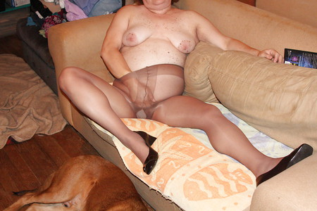 Wife in Panties and Pantyhose