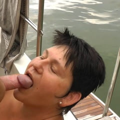 Annadevot Boat Special: Deep Throat In Close Up