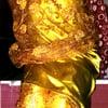 Sexy silk satin dress