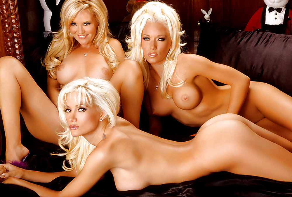 Holly madison nude with her girls next door