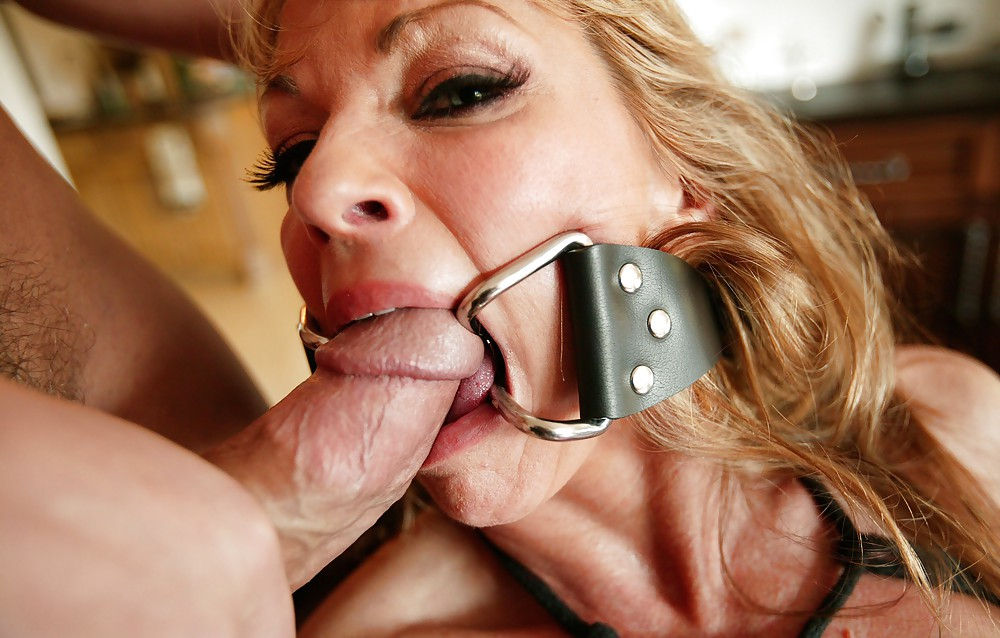 Blow job gag ring, wet girl movies