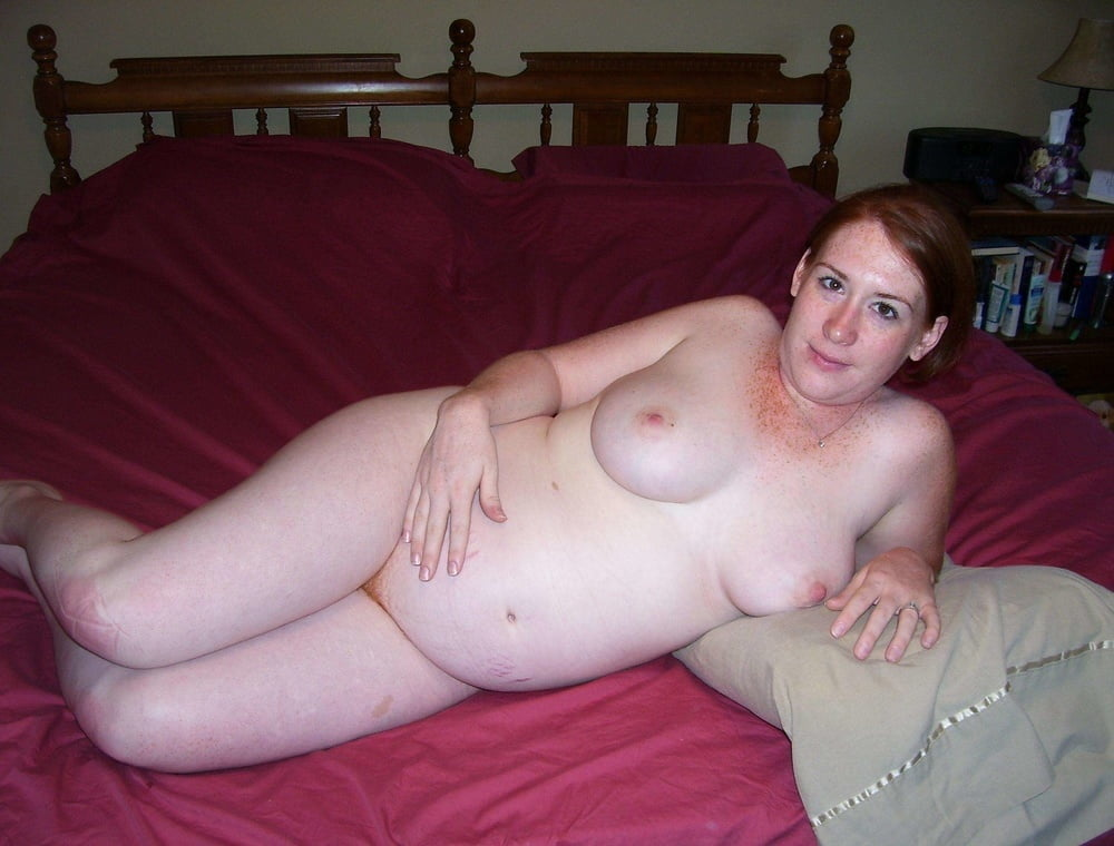 Pregnant Freckled Redhead Wife- 23 Pics