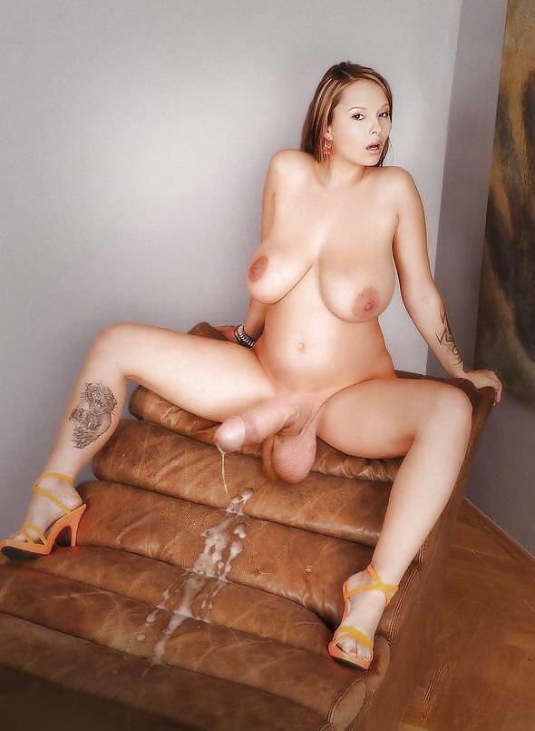 Hermaphrodite with massive tits nude