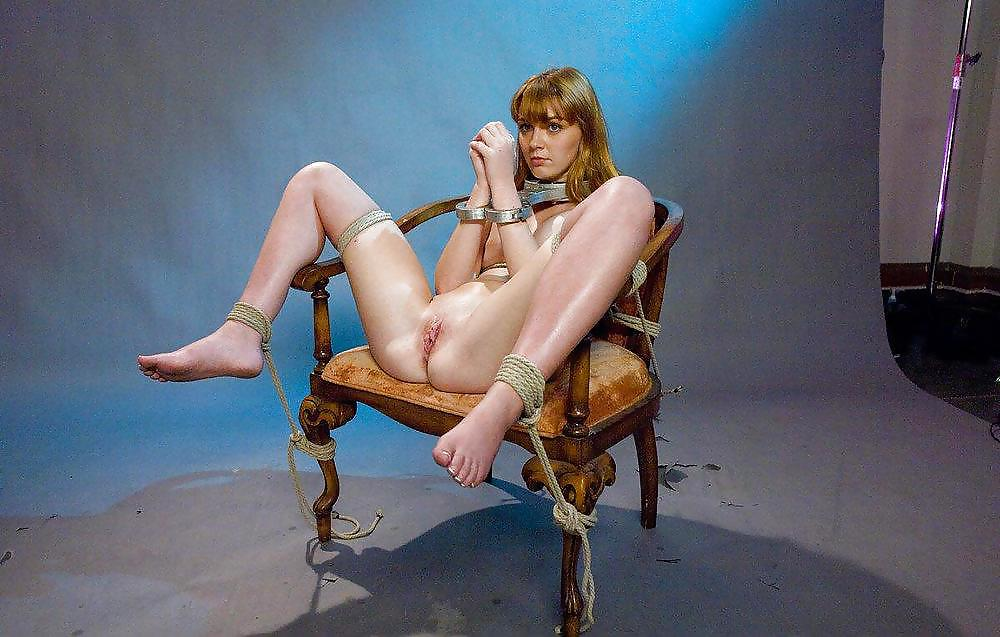 Cowboy boot on naked women
