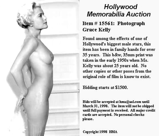 Grace kelly nude, topless and sexy