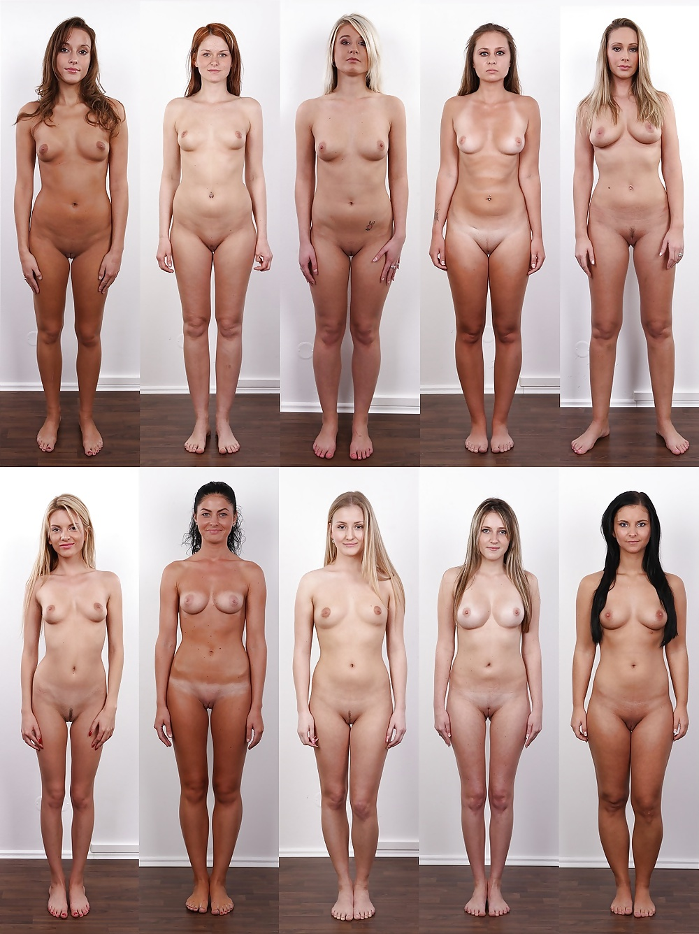 Casting desnudo amateur