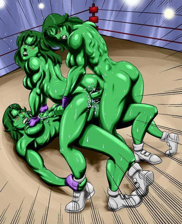She Hulk Futa Hentai