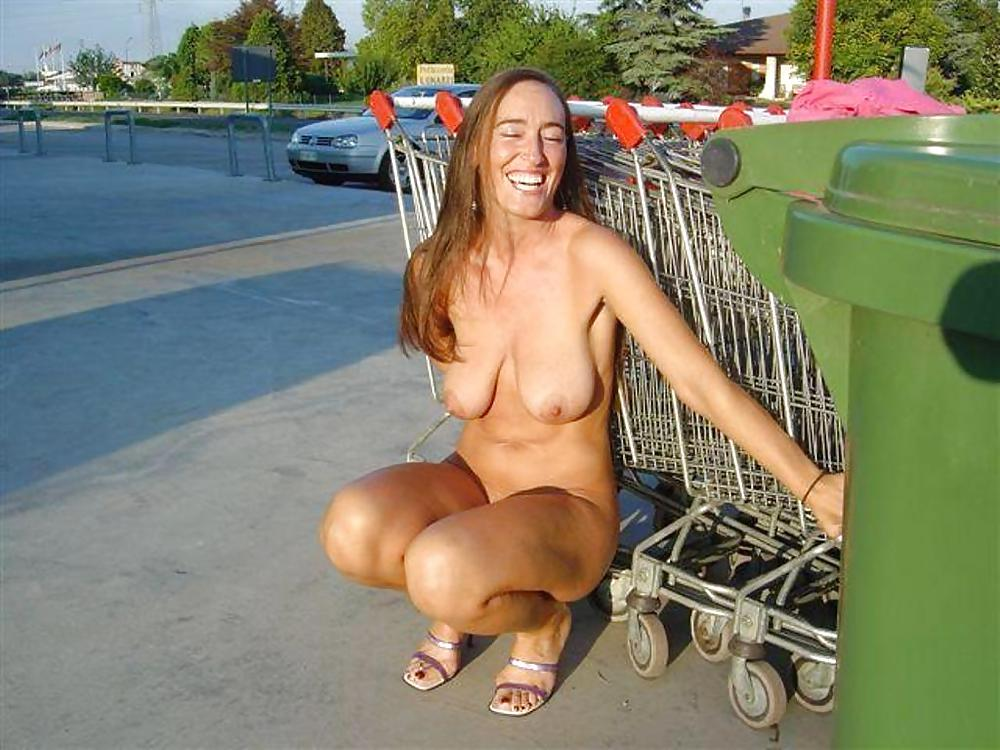 Wife tries public nudity for size